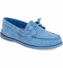NEW Sperry Top-Sider Jeffrey Blue/Navy A/O 2-Eye Boat Shoes