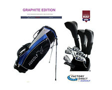 ALL SIZES LADIES MAGNUM COMPLETE GOLF CLUB SET w/DRIVER+HYBRID+IRONS+BAG+PUTTER