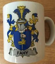 Family Name Coat of Arms Crest on Coffee CUP MUG - LITTLE to LUCY