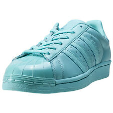 adidas Superstar Glossy Toe Womens Trainers Mint New Shoes