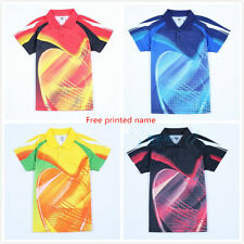 Free New men's Tops table tennis clothing Badminton Only T-shirt 2302