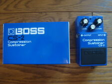 BOSS CS-2 Compression Sustainer Pedal w/ BOX Roland CS2 CS 2