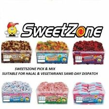 SWEETZONE JELLY FIZZY PENCILS CANDY SWEETS VARIETTES 100% HALAL HM TUBS VARIOUS