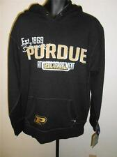 New Purdue Boilermakers Adult Mens Sizes S-M Distressed Nice Quality Hoodie