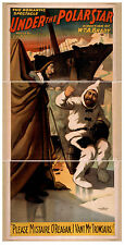 Photo Print Vintage Poster: Stage Theatre Turn Of Century Under The Pole Star 03