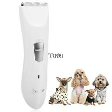 HOMDOX Pet Cat Dog Hair Cordless  Electric Grooming Trimmer Shaver Clipper Kit