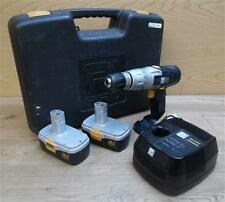 Performance Power Pro CLM18VHD 18V Hammer Drill W/ Case + 2 Batteries *Damaged*
