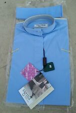 NWT SIGMA Elegance Girls $39 Long Sleeve Cotton Ratcatcher Show Shirt Light Blue