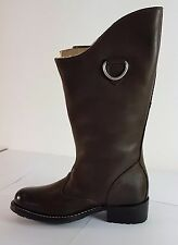 G Star Raw Patton Asper Hi Womens Leather Slip On Boots - Brown 044 - See Sizes