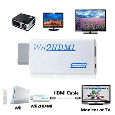 Wii to HDMI Wii2HDMI 1080P/720P Full HD Converter Adapter 3.5mm Audio Output BOX