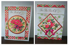 Large Christmas Cards - both of you/two of you - 29cm x 20.5cm approx