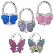 New Stylish Foldable Bag Purse Handbag Hook Hanger Holder - Butterfly Shape