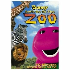 Barney - Lets Go to the Zoo (DVD, 2003)