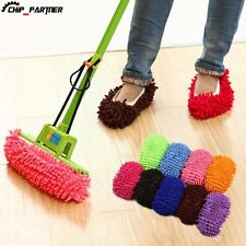 Floor Dust Cleaning Shoes Mop House Clean Shoe Cover Multi function Slippers