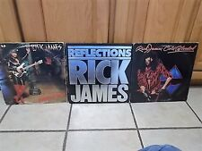 Rick James lp lot of 3 record albums
