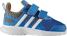 Boy's Toddler's ADIDAS HYPERFAST 2.0 AC AQ3850 Blue Athletic Sneakers Shoes NEW
