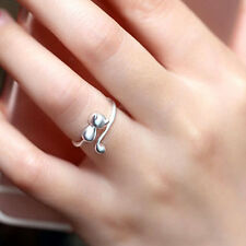 Sweet Animal Cat Open Finger Ring Jewelry Charm Women Party Prom Gift Goodish