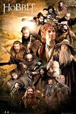 New The Hobbit An Unexpected Journey Character Collage Poster