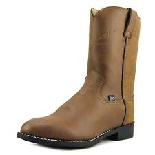 Justin Boots JB3001   Round Toe Leather  Western Boot