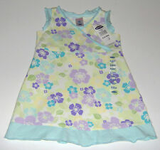 NWT Old Navy infant girls cotton white lavender floral dress sz 6-12m