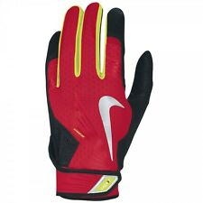 NIKE VAPOR ELITE PRO ADULT BATTING GLOVES #GB0372 SHEEPSKIN NWT RETAILS FOR $60