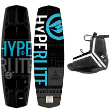 NEW 2017 Hyperlite Wakeboard Machete w/ Agent Wakeboard Binding