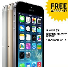 Apple iPhone 5s Factory Unlocked Smartphone Gold Grey Silver