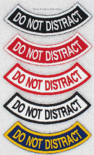 1 DO NOT DISTRACT ROCKER PATCH Danny & LuAnns Embroidery service dog