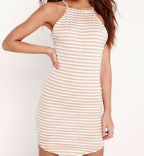 Sexy Women Striped Slim off shoulder Cocktail Party Evening Short Mini Dress