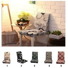 Elastic Flexible Dining Room Chair Cover Slipcover Stool Washable Protector