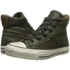 Converse X by John Varvatos Chuck Taylor All Star Back Zip Hi GREEN 145380C