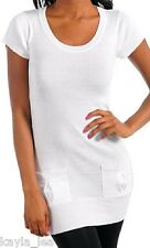 White Cap Sleeve Cardigan/Sweater Tunic Top S/M/L *3 Colors*