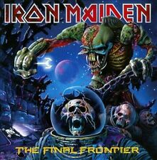 The Final Frontier Iron Maiden CD Jewel Case Standard