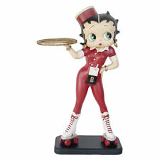 NEW Large 3ft Betty Boop 'Rollerskate Waitress' Figurine Ornament - New & Boxed