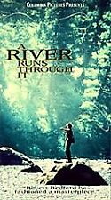 A River Runs Through It (VHS, 1993, Closed Captioned)