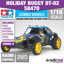 COMBO DEAL! 58470 TAMIYA HOLIDAY BUGGY DT-02 1/10th R/C KIT RADIO CONTROL BUGGY