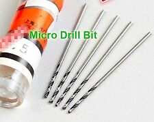 10 Pcs Precision Micro Drill Bit for Watch Pivot  0.22mm~0.39mm selectable