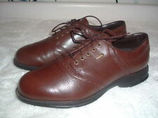 Etonic Stabilite Brown Saddle Oxfords Golf Fashion Footwear Mens Used Shoes 8.5
