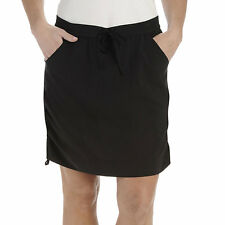Lee Active Performance Black Pull-On Skort Size 4P New Msrp $44.00