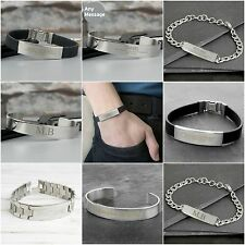 Personalised Jewellery Bracelet for Men Father's Day Birthday Gift Present Idea