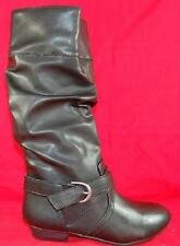 Girl's Youth CANDIES NELLI Black Fashion Tall Zipper Casual/Dress Boots NEW