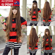 Personality Long Curly Wavy Wigs Costume Party Masquerade Wig for Fashion Women