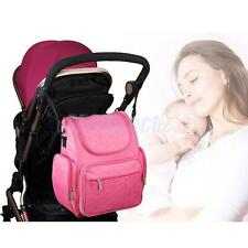 Outdoor Kids Baby Diaper Nappy Backpack Changing Mother Mummy Large Shoulder Bag