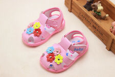 Cute Infant Sandals Fashion Baby Girl Squeaky Sandals Toddler Walking Shoes Size
