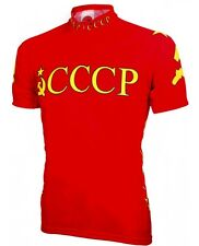 CCCP Russia Soviet Union Olympic Cycling Jersey World Jerseys Men's with Sox