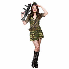 SALE Private Tease Sexy Army Ladies Clearance Fancy Dress Costume