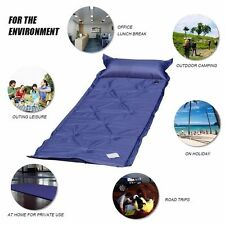 Single Self Inflating Camping Roll Mat Inflatable Sleeping Mattress