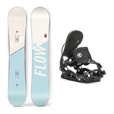 Flow Canvas Juno Hybrid Womens Snowboard and Binding Package