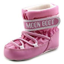 Tecnica Moon Boot Crib Youth  Round Toe Canvas Pink Winter Boot NWOB