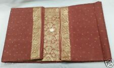Vintage Antique Weaving Pure Pure 5 Yard Fabric Material Woven Sari Saree